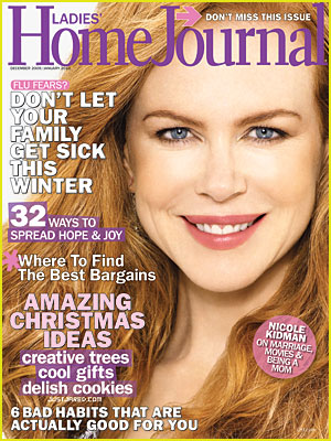 Nicole Kidman Covers Ladies' Home Journal