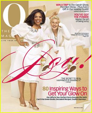 Ellen DeGeneres and Oprah Cover December's O Magazine