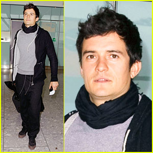 Orlando Bloom Makes It Outta Morocco