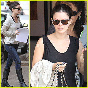 Rachel Bilson Takes Shots Before Traveling