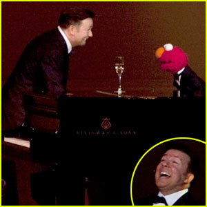 Ricky Gervais & Elmo Hit Carnegie Hall