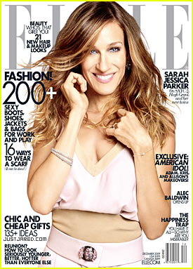 Sarah Jessica Parker Covers 'Elle' December 2009