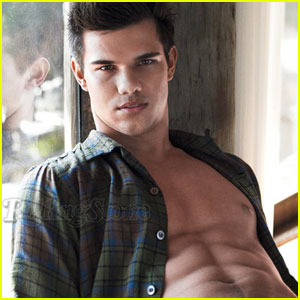 Taylor Lautner: Rolling Stone Cover Shoot Pics!