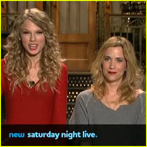 Taylor Swift & Kristen Wiig: New SNL Promo!