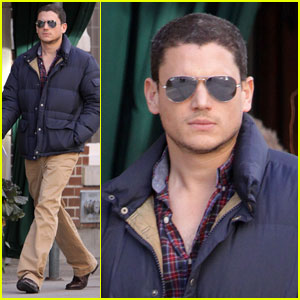Wentworth Miller Takes A Break From Zombies