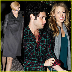 Blake Lively & Rihanna Hit SNL After-Party