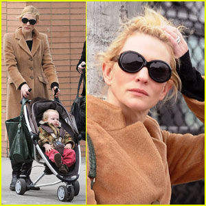 Cate Blanchett: A Play Date With Baby