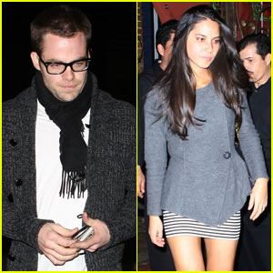 Chris Pine & Olivia Munn Couple Up