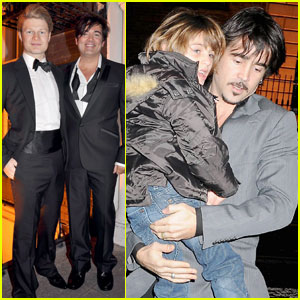 Colin Farrell: Baby Baptism!