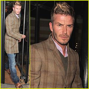 David Beckham is Cipriani Sexy
