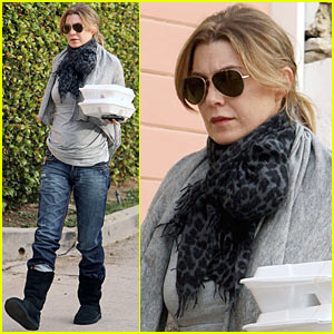 Ellen Pompeo: Take-Out For Two!