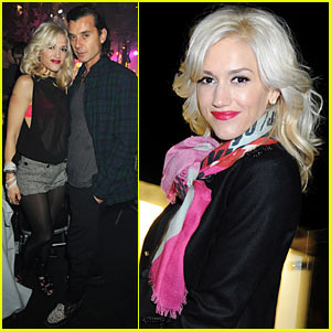 Gwen Stefani: Berkeley Square Christmas Ball!