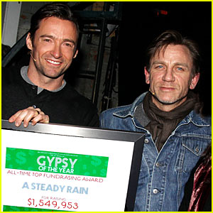 Hugh Jackman & Daniel Craig: All-Time Top Fundraisers!