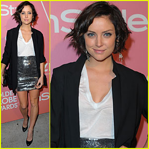 Jessica Stroup Salutes Young Hollywood