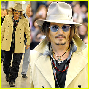 Johnny Depp Gears Up for 'Dark Shadows'