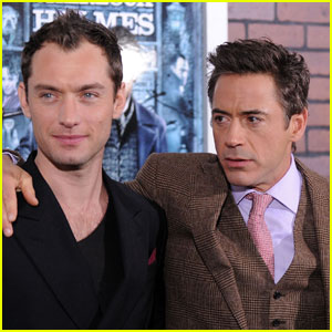 Jude Law & Robert Downey, Jr.: A Premiere Pair