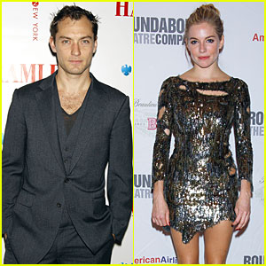 Jude Law & Sienna Miller: Thanksgiving Together?