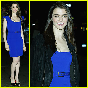 Rachel Weisz is Letterman Lovely