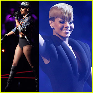 Rihanna Hits Germany's Popstars