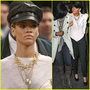 Rihanna: Knicks Heat Up, Blazers Cool Down