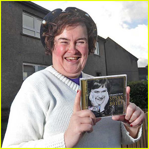 susan boyle s album hits 1 largest opening for female artist susan boyle just jared. Black Bedroom Furniture Sets. Home Design Ideas