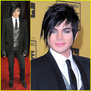 Adam Lambert - Critics Choice Awards 2010