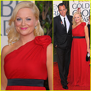 Amy Poehler - Golden Globes 2010 Red Carpet