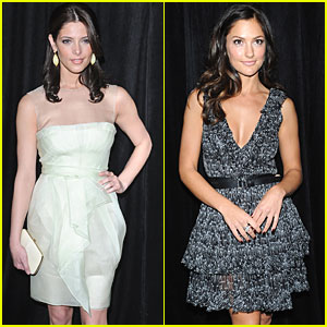 Ashley Greene & Minka Kelly are Diamond Darlings