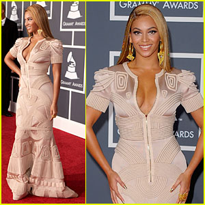 Beyonce - Grammys 2010 Red Carpet
