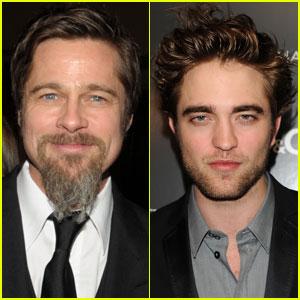Brad Pitt & Robert Pattinson Join Haiti Telethon