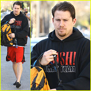 Channing Tatum Works It Out