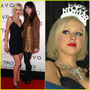 Christina Aguilera & Nicole Richie: New Year's Tao Tandem!