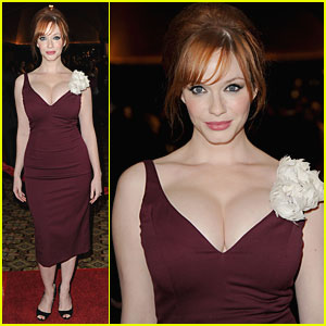 Christina Hendricks is Directors Guild Awards Amazing