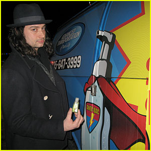 Constantine Maroulis Gets The Anti-Bac Treatment