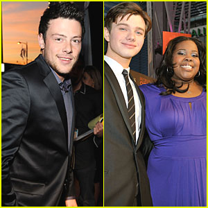 Cory Monteith: People's Choice Awards 2010 Red Carpet