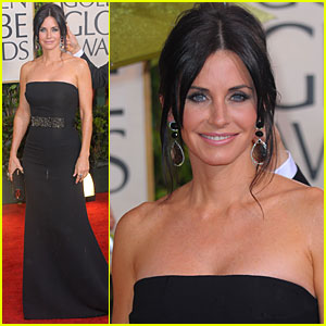 Courteney Cox - Golden Globes 2010 Red Carpet