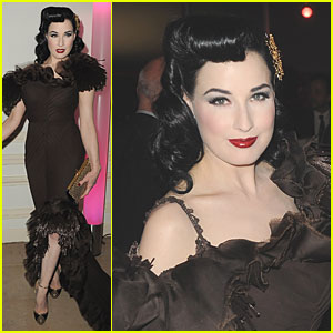 Dita Von Teese: French Fashion Dinner!