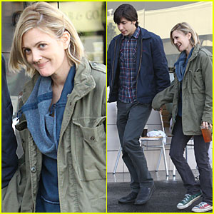 Drew Barrymore & Justin Long: Laying Low in Los Feliz