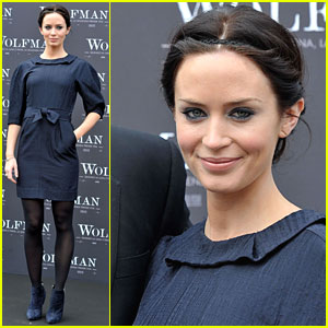 Emily Blunt is a 'Wolfman' Woman