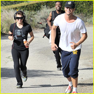 Fergie & Josh Duhamel: Canyon Running Couple