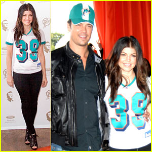 Fergie & Josh Duhamel: Dolphins Date