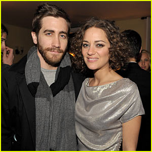 Jake Gyllenhaal: Dior Cocktails with Marion Cotillard!