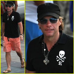 Jon Bon Jovi Trades Snow For Sun