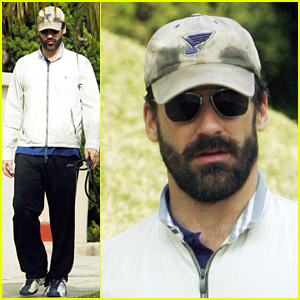 Does Jon Hamm Wear His Beard Well?