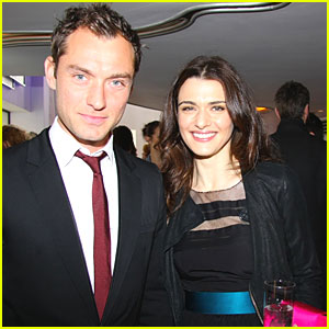 Jude Law & Rachel Weisz: Critics Circle Celebration!