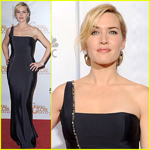 Kate Winslet - Golden Globes 2010 Red Carpet