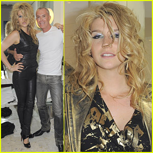 Ke$ha's Personal Fitting In Paris