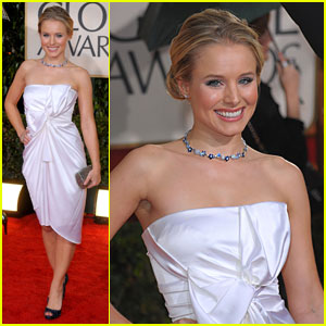 Kristen Bell - Golden Globes 2010 Red Ca