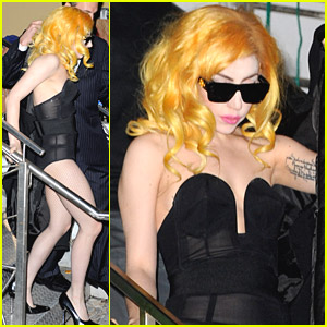 Lady Gaga Has Fun In Florida