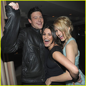 Lea Michele & Cory Monteith: 'Glee' Renewed for Second Season!